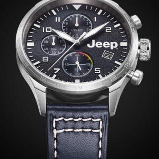 JEEP 吉普 指南者系列 44毫米石英腕表