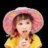 lemonkid 柠檬宝宝 LK2210018 儿童防晒帽