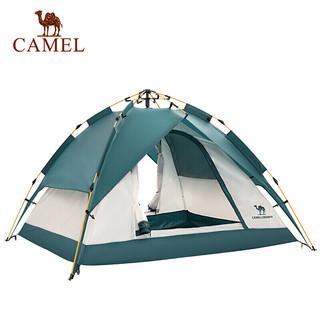 骆驼帐篷户外3-4人 全自动帐篷速开防雨野营露营帐篷  摩洛哥蓝