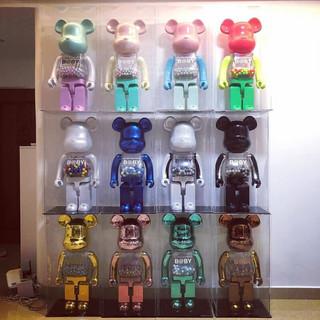bearbrick积木熊暴力熊千秋模型公仔潮玩摆件客厅400% 猴子陈冠希 400%28cm