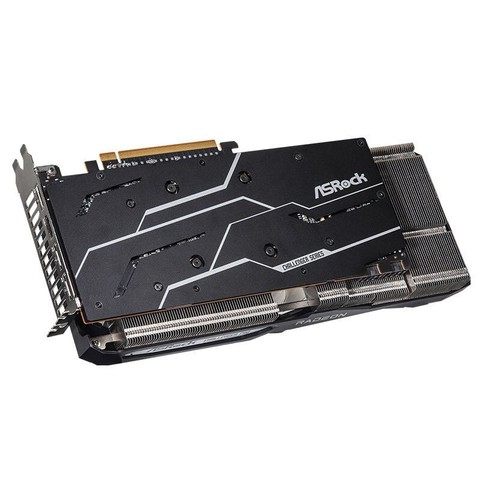 ASRock 华擎(ASRock)AMD RADEON RX 6700XT CLP  挑战者Pro OC 显卡 7nm AMD RDNA 2架构 12GB GDDR6电竞游戏显卡