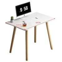 小楼之月 写字桌 60cm*40cm*72cm 暖白色 单桌