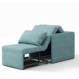 简单·艾伦 BK-9026 棉麻布单人沙发床 可拆洗