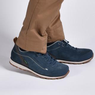 天越 时尚户外轻型徒步鞋 深海蓝 42