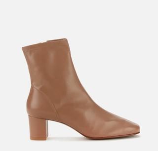 Sofia 女士皮革高跟靴