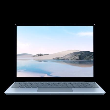 Microsoft 微软 微软Surface Laptop Go 超轻薄触控笔记本 冰晶蓝  12.4英寸 英特尔酷睿i5 8G 128G SSD 金属键盘 网课办公