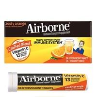 Schiff 旭福 Airborne 橘子味维生素C泡腾片 36粒