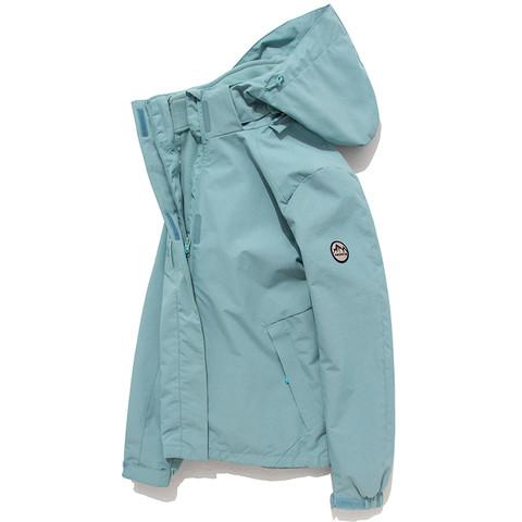 日本潮牌春季踏青三合一冲锋衣女加绒加厚两件套防风防水徒步外套