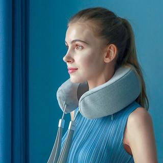 倍轻松(breo)颈椎按摩器iNeck3 Pro颈部肩颈按摩仪护颈仪APP蓝牙控制 灰色