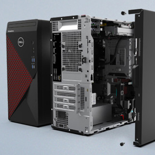 DELL 戴尔 Vostro 5880 台式机 黑色(酷睿i7-10700、GTX 1650 4G、32GB、256GB SSD+1TB HDD)