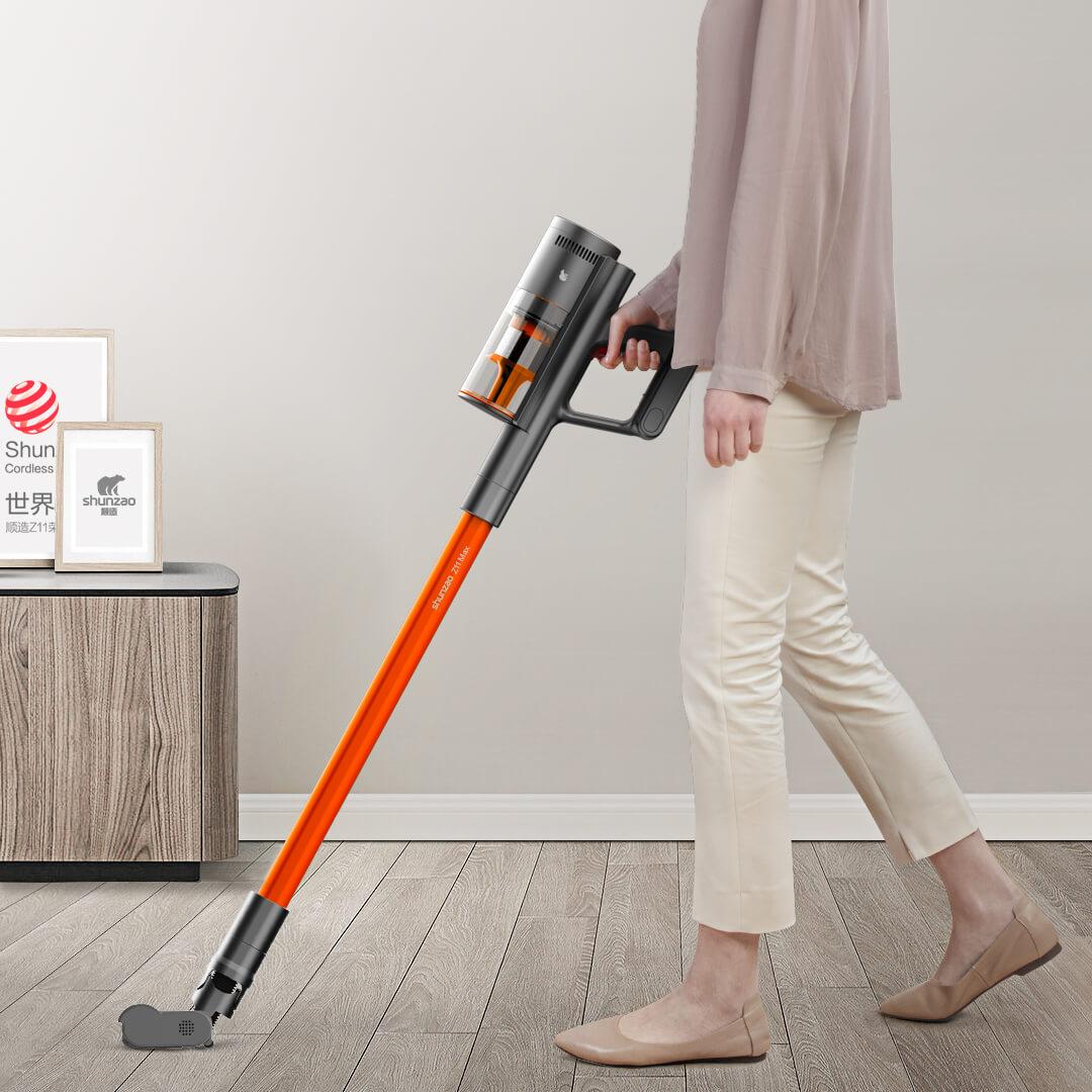 新品发售 : 顺造 无线手持家用吸尘器Z11Max  胡杨橙