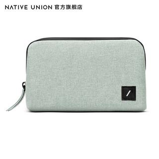 Native Union Stow数码便携耐用配件旅行整理袋数据线洗漱收纳包 灰绿色