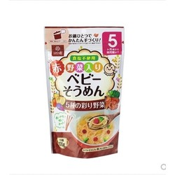 Hakubaku 黄金大地 婴儿蔬菜碎碎面 100g