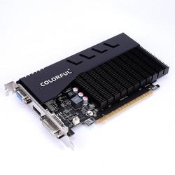 COLORFUL 七彩虹 GT710 冰暴鲨/黄金版 1GD3 电脑台式机独立显卡 高清显卡