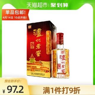 泸州老窖 52度六年窖头曲500mL单瓶 浓香型高度白酒