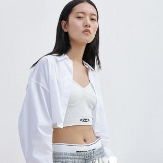 MO&Co. 摩安珂 史努比联名系列 女士长袖衬衫 MBA2SHT012