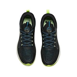 ANTA 安踏 咕咚 安踏联名款 创1.0 男子跑鞋 112115586-3 黑蓝 43