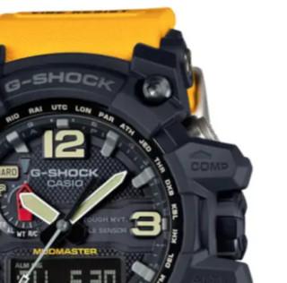 CASIO 卡西欧 G-SHOCK 陆地系列 56.1毫米电波腕表 GWG-1000-1A9