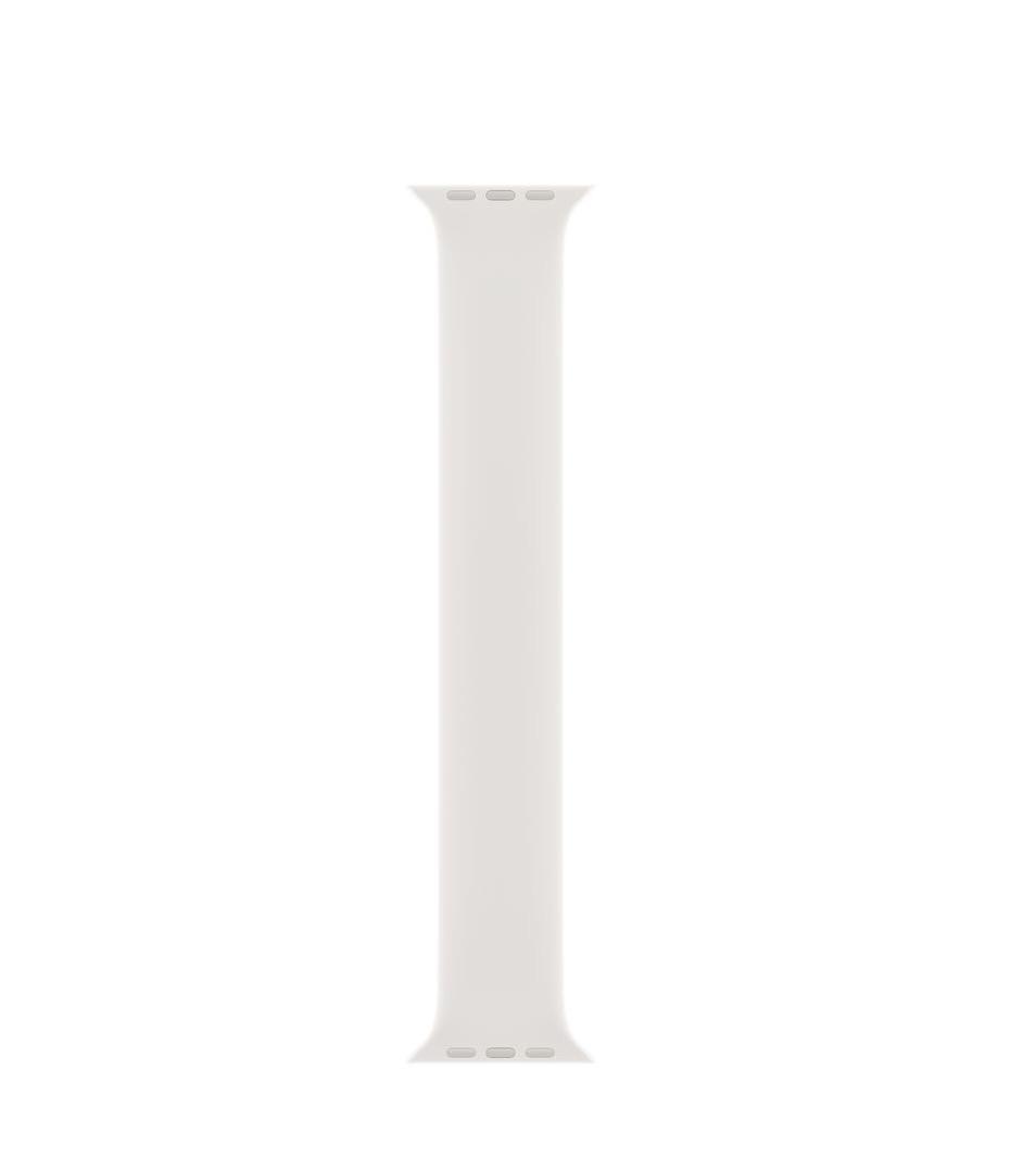 Apple 40 毫米白色单圈表带 - 1 号