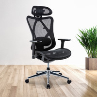 UE 永艺 1084E Plus  全网布人体工学电脑椅 无搁脚