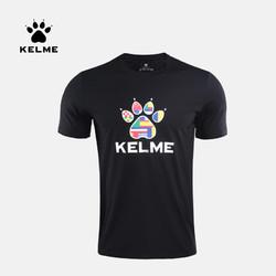 Kelme 卡尔美 3491143 贝隆同款 男士圆领短袖T恤