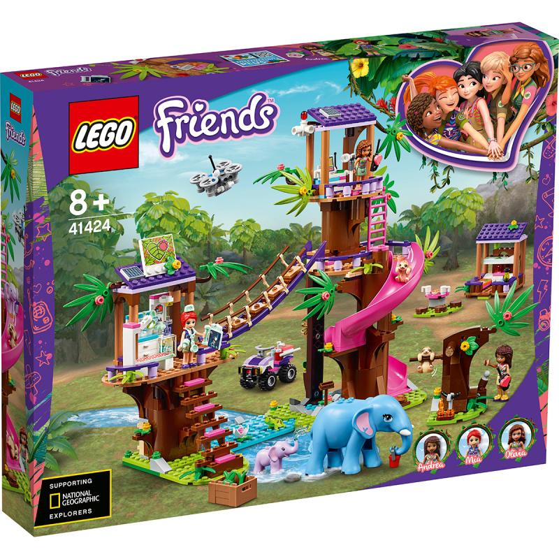 LEGO 乐高 好朋友系列 41424 丛林动物救援站