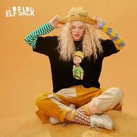 elf sack 妖精的口袋 1040_AL5059ZB 女士拼接长袖T恤