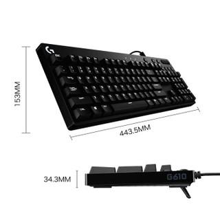 logitech 罗技 Logitech G610 机械键盘 Cherry 红轴