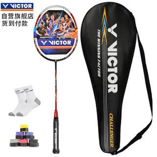 VICTOR 威克多 Victor CHA-9500 羽毛球单拍 红色