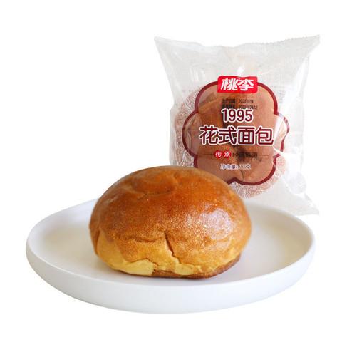 桃李  1995花式面包70g/袋*10袋 新鲜短保 营养早餐 休闲零食糕点