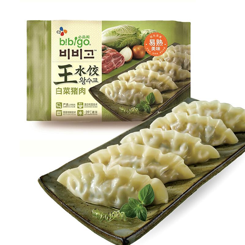 bibigo 必品阁  白菜猪肉王水饺 600g