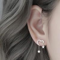 YYEU  W190906001 女士爱心耳钉