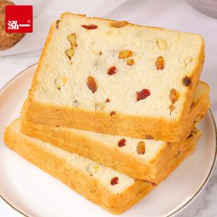 泓一  坚果吐司面包 700g