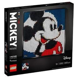 LEGO 乐高 艺术生活系列 31202 米奇米妮
