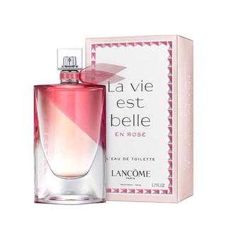 LANCOME 兰蔻 La vie est Belle en Rose 美丽人生玫瑰 女士淡香水 50ml
