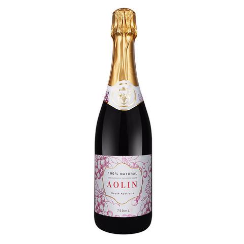 AOLIN 澳洲AOLIN澳林香槟无酒精起泡酒0度气泡酒无醇葡萄汁果酒甜葡萄酒