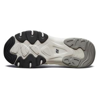 SKECHERS 斯凯奇 D'lites 3.0 男子休闲运动鞋 999299-BKNT 黑色/自然色 39.5