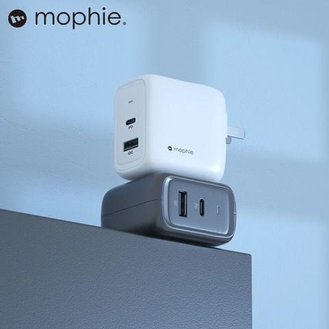 mophie Mophie 氮化镓GaN65W充电器套装双口充电适苹果12pro max华为mate