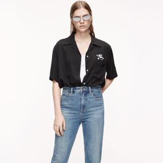 MO&Co. 摩安珂 LOONEY TUNES合作系列 女士翻领短袖衬衫 MBO2TOP036