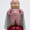 瞿广慈《像个孩子似的》37X19x17.5cm 雕塑 玻璃钢着色 手绘 2018年