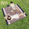 YODO 悠度 户外野餐垫ins风 200x200-英伦风格-超声波涤棉-可机洗