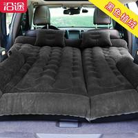 车载充气床 植绒黑色-全车床垫