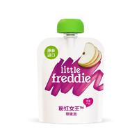 LittleFreddie 小皮 有机系列 果泥 粉红女王限量版 2段 苹果味 70g