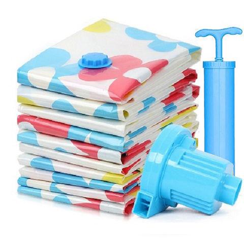 收纳博士抽真空压缩袋收纳袋装棉被子衣服特大号中小号学生整理袋