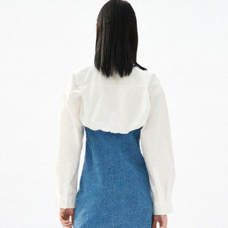 MO&Co. 摩安珂 AALTO系列 女士牛仔连衣裙 MBO1DRS041