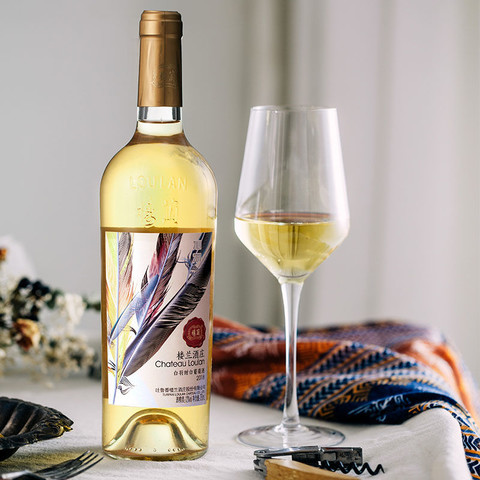 楼兰沁羽白羽甜白葡萄酒国产甜酒红酒整箱批发高档萄葡酒自酿果酒