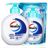 Walch 威露士  健康呵护抑菌洗手液 525ml+补充装525ml