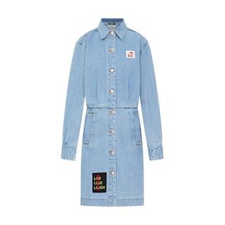 MO&Co. 摩安珂 AALTO系列 女士工装连衣裙 MBO1DRS026