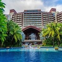 周末不加价!三亚海居铂尔曼度假酒店 高级花园房2晚(含早餐+正餐+水上乐园)