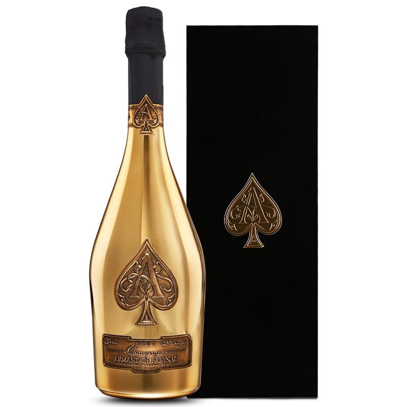 黑桃A 香檳 黃金版 750ml